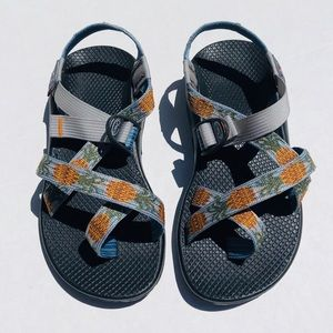 Chaco | Z/2 Sandals | Size 7 WIDE | Pineapple Blue